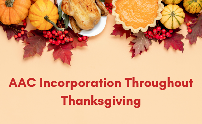 AAC Incorporation Throughout Thanksgiving